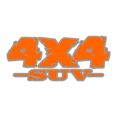 Sticker logo 4x4 suv ref 88