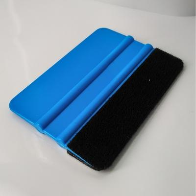 Raclette de pose bleu avec feutrine 1er prix
