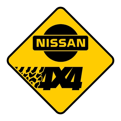 Sticker NISSAN ref 5