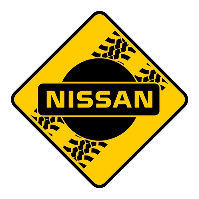 Sticker NISSAN ref 6