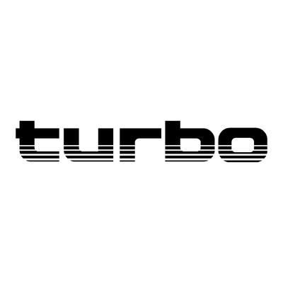 Sticker TOYOTA turbo ref 42