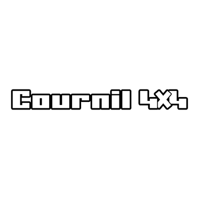 Sticker COURNIL ref 10
