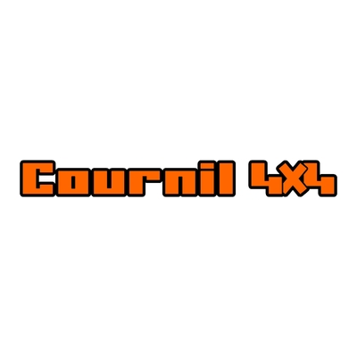 Sticker COURNIL ref 11