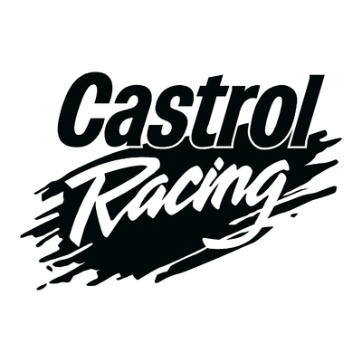 Sticker CASTROL RACING ref 1