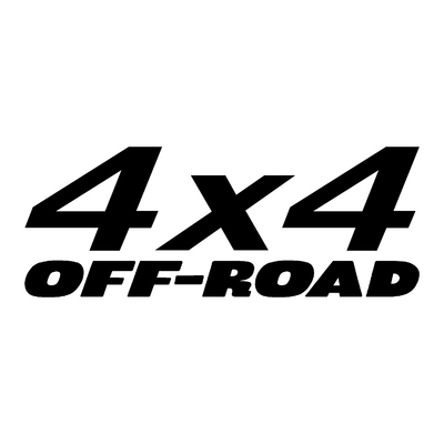 Sticker logo 4x4 off-road ref 1