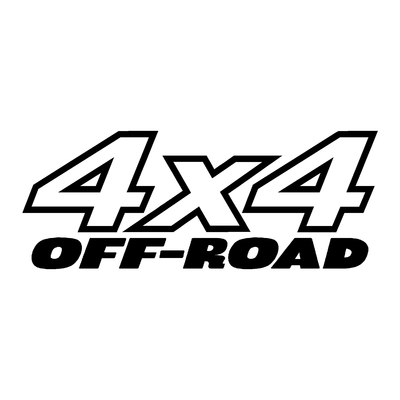 Sticker logo 4x4 off-road ref 2