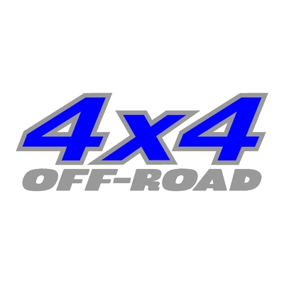 Sticker logo 4x4 off-road ref 4