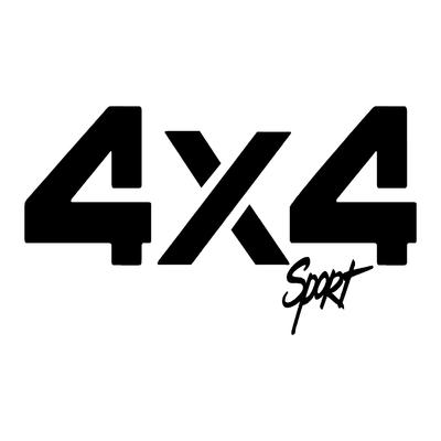 Sticker logo 4x4 sport ref 1