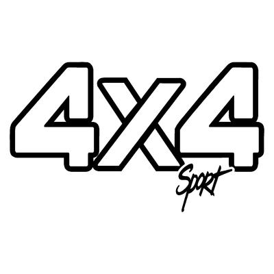 Sticker logo 4x4 sport ref 2