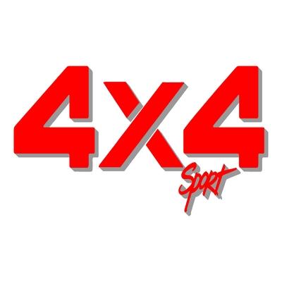 Sticker logo 4x4 sport ref 3
