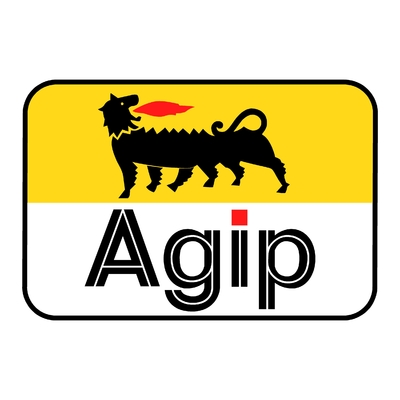 Sticker AGIP ref 2