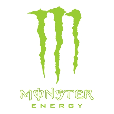 Sticker MONSTER ENERGY ref 2