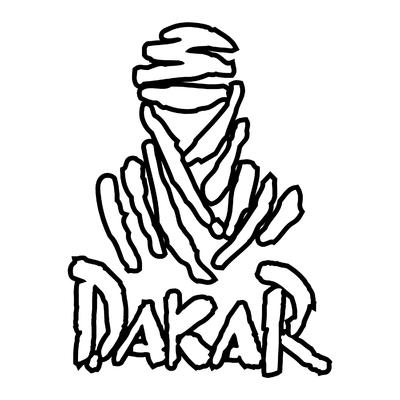 Sticker DAKAR ref 2