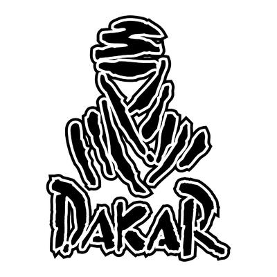 Sticker DAKAR ref 3