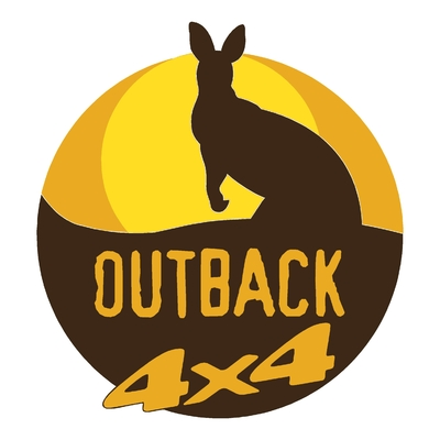Sticker OUTBACK 4X4 ref 1