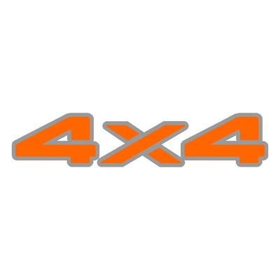Sticker logo 4X4 ref 16