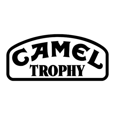 Sticker CAMEL TROPHY ref 1