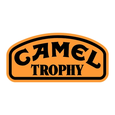 Sticker CAMEL TROPHY ref 2