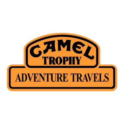 Sticker CAMEL TROPHY ref 3