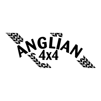 Sticker ANGLIAN 4X4 ref 1