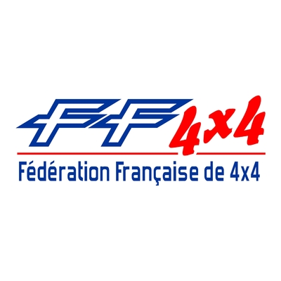 Sticker FEDERATION FRANCAISE DE 4X4 ref 1