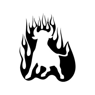 Sticker FLAMMES ref 19