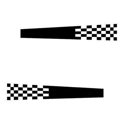 Sticker DAMIER ref 12