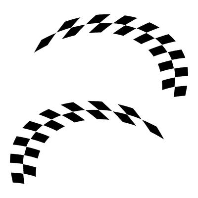 Sticker DAMIER ref 26