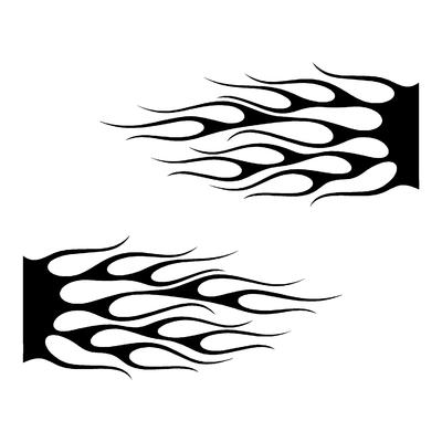 Sticker FLAMMES ref 8