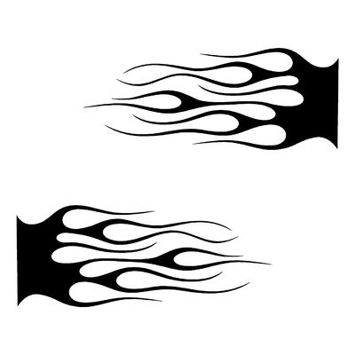 Sticker FLAMMES ref 13