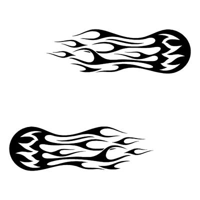 Sticker FLAMMES ref 34
