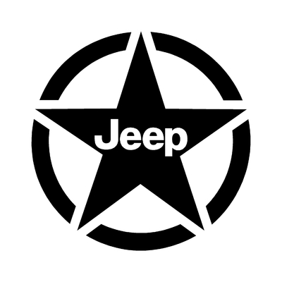 Sticker JEEP ref 16