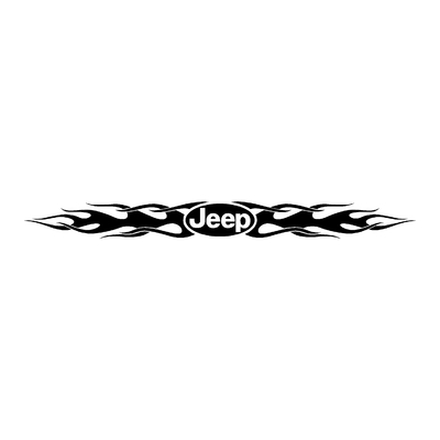 Sticker JEEP ref 26