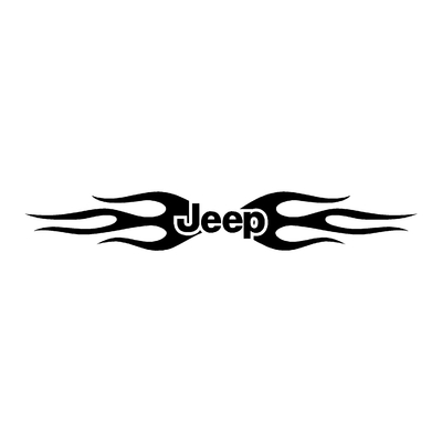 Sticker JEEP ref 28