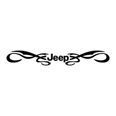 Sticker JEEP ref 29