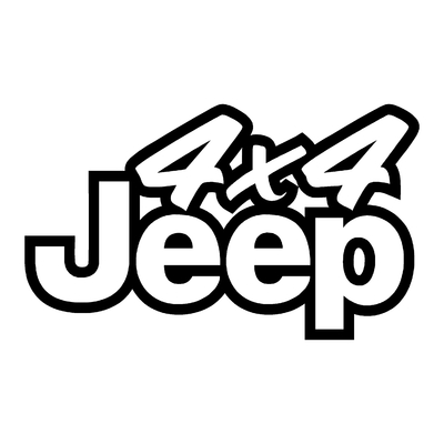 Sticker JEEP ref 19