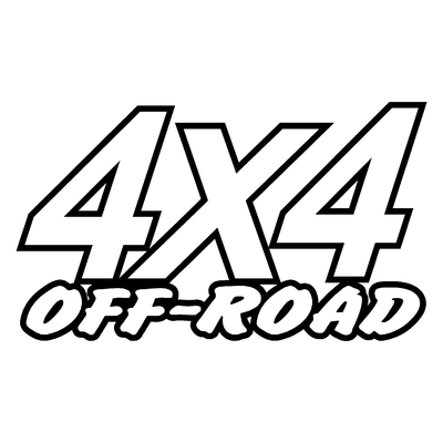 Sticker logo 4x4 off-road ref 13