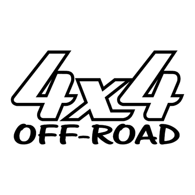 Sticker logo 4x4 off-road ref 18