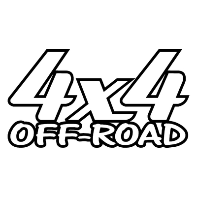 Sticker logo 4x4 off-road ref 21