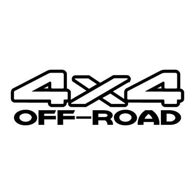 Sticker logo 4x4 off-road ref 26