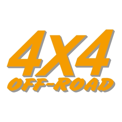 Sticker logo 4x4 off-road ref 11