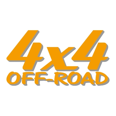 Sticker logo 4x4 off-road ref 19