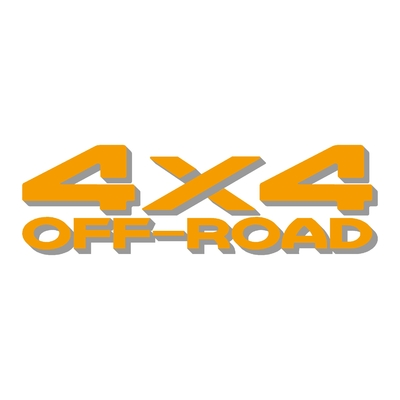 Sticker logo 4x4 off-road ref 27