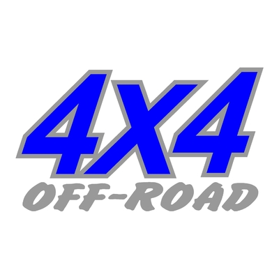 Sticker logo 4x4 off-road ref 12