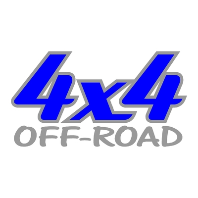 Sticker logo 4x4 off-road ref 20