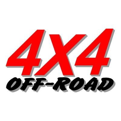 Sticker logo 4x4 off-road ref 14