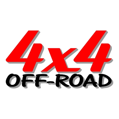 Sticker logo 4x4 off-road ref 22
