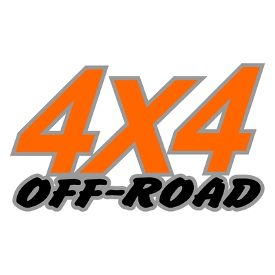 Sticker logo 4x4 off-road ref 15