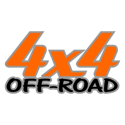 Sticker logo 4x4 off-road ref 23