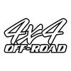 stickers-logo-4x4-off-road-ref61-tout-terrain-autocollant-pickup-6x6-8x8